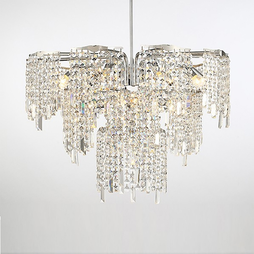 Chrome Crystal Chandelier 3