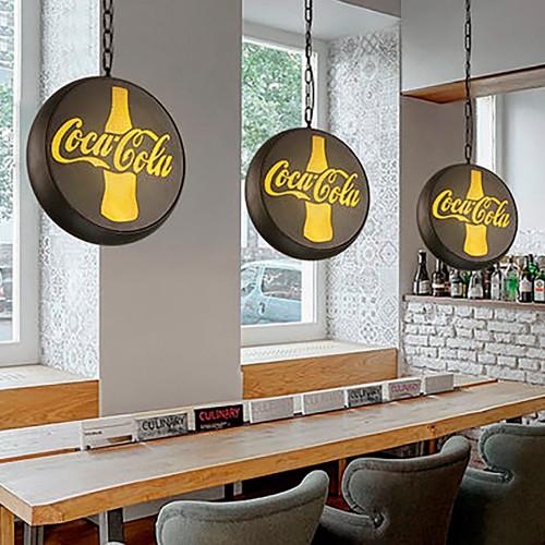 Светильник LOFT Coca Cola Pendant