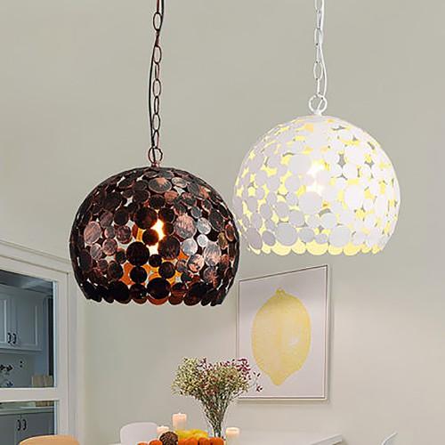 Светильник LOFT Copper/White Pendant
