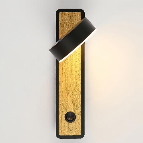 Дизайнерский бра Cosmo Wall Wood 4