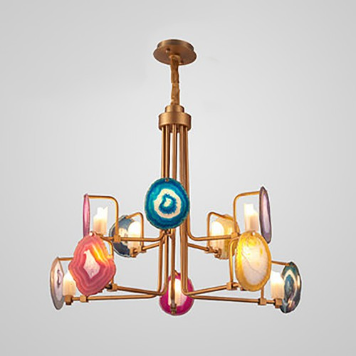 Creative Agat Chandelier 2