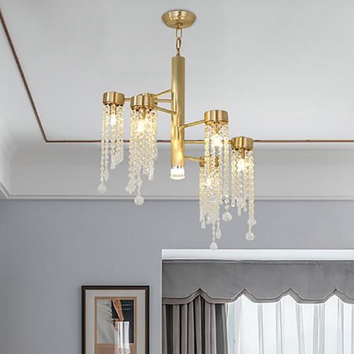 Дизайнерский светильник Creative Brass Diamond Chandelier