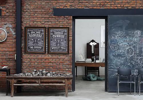 Декор на стену «Board 04»