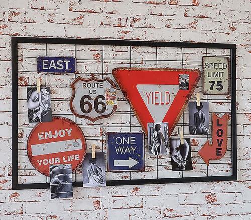 Декор на стену «Board 07»