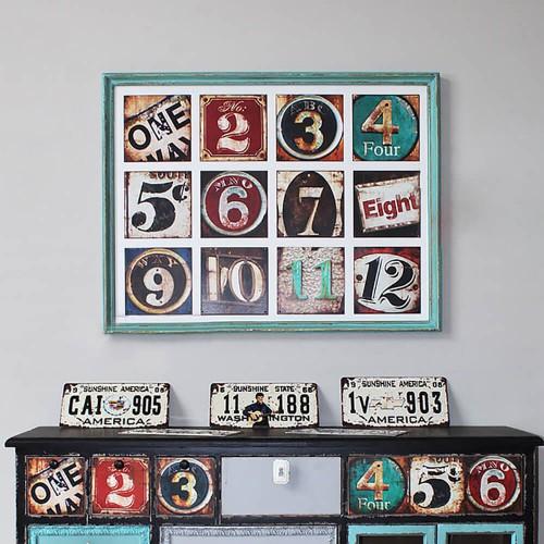 Декор на стену «Board 11»