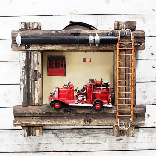 Декор на стену «Fire truck»