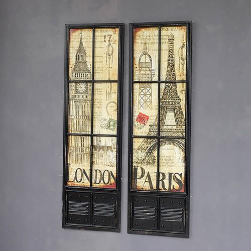 Декор на стену «London-Paris»
