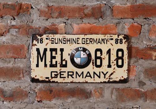 Декор на стену «Номера USA»