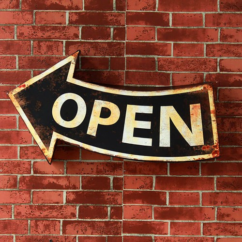 Декор на стену «Open»