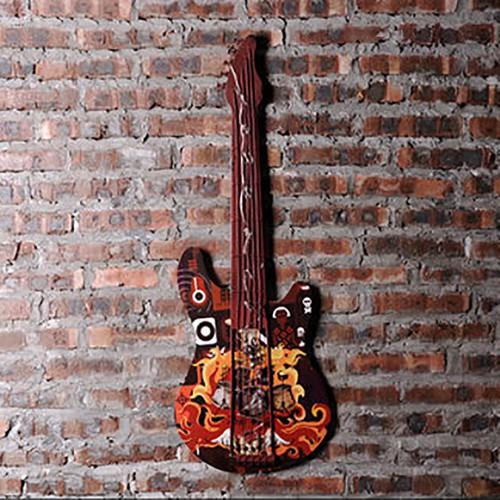 Декор на стену с подсветкой «Гитара»