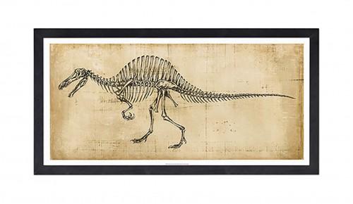 Декор на стену «Скелет динозавра»