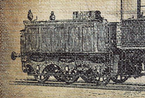 Декор на стену «Train»