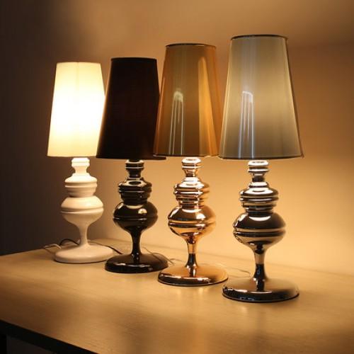 Дизайнерская настольная лампа ДЛ-020
