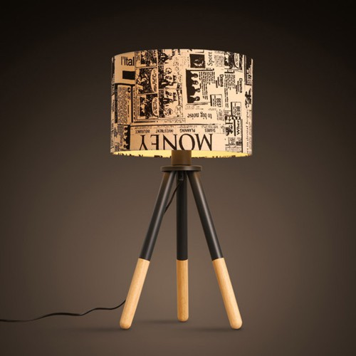 Дизайнерская настольная лампа ДЛ-043