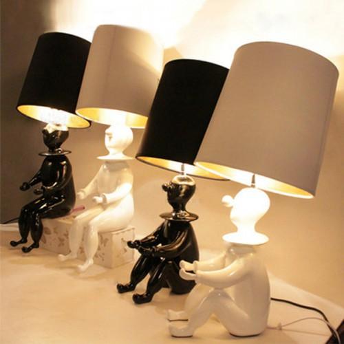 Дизайнерская настольная лампа ДЛ-024