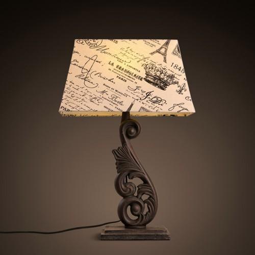 Дизайнерская настольная лампа ДЛ-046