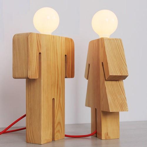Дизайнерская настольная лампа ДЛ-070