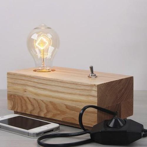 Дизайнерская настольная лампа ДЛ-075