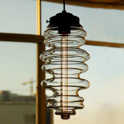 Дизайнерская люстра Glass Banck 2