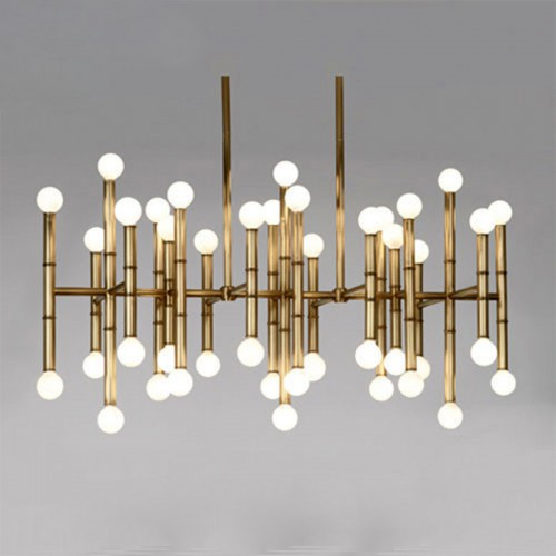 Светильник LOFT Meurice Rectangle Chandelier
