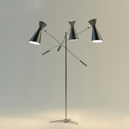 Дизайнерский торшер ТД-026