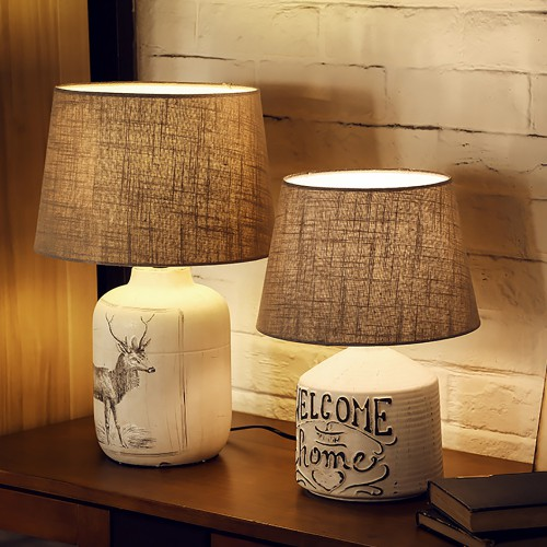 Дизайнерская настольная лампа ДЛ-138