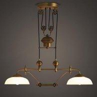 Подвесной светильник LOFT Double Copper Lustre