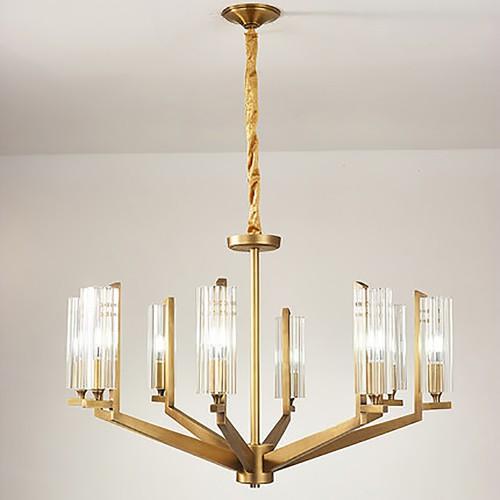 Дизайнерская люстра Fashion Brass Chandelier 3