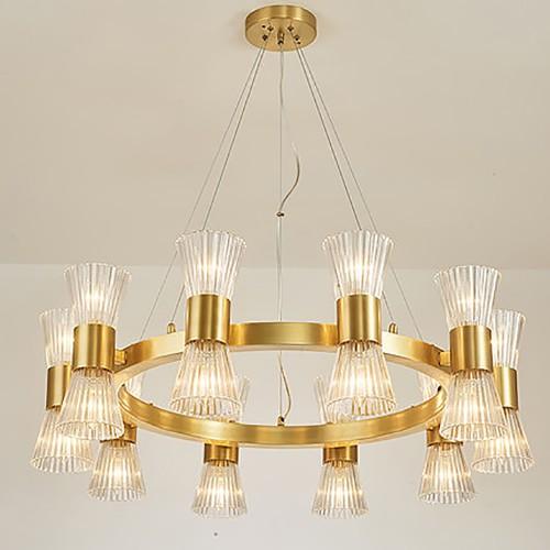 Дизайнерская люстра Fashion Brass Chandelier 4