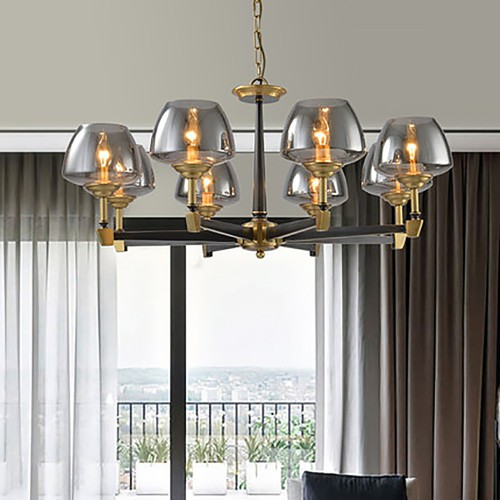 Дизайнерский светильник Fashion Brass Exclusive Chandelier 2