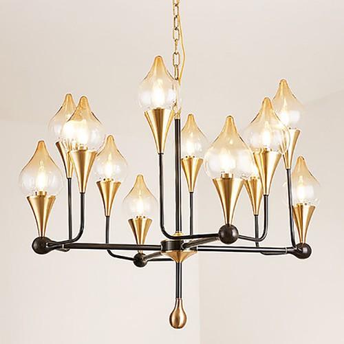 Дизайнерская люстра Fashion Brass Exclusive Chandelier 3