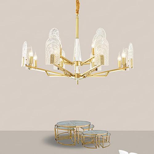 Дизайнерская люстра Fashion Brass Exclusive Chandelier 4