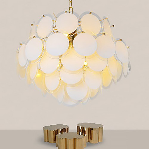 Fashion Gold Glass Chandelier 2