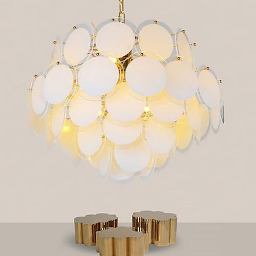 Дизайнерский светильник Fashion Gold Glass Chandelier 2