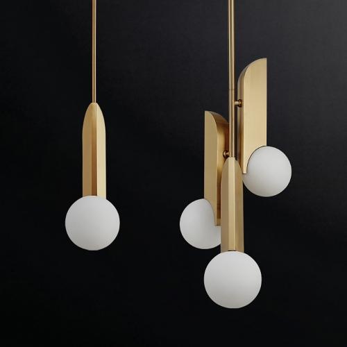 Дизайнерский светильник Fen Brass Modern