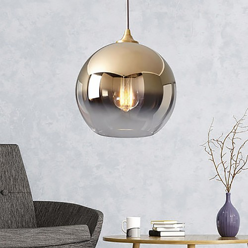 Дизайнерский светильник Fen Glass Gold