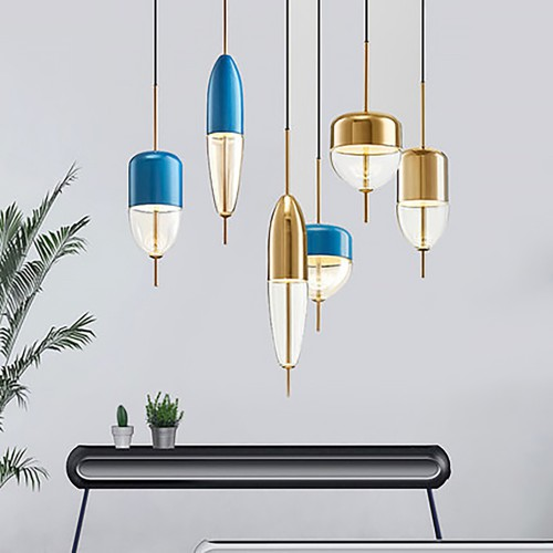 Дизайнерский светильник Flow Metal