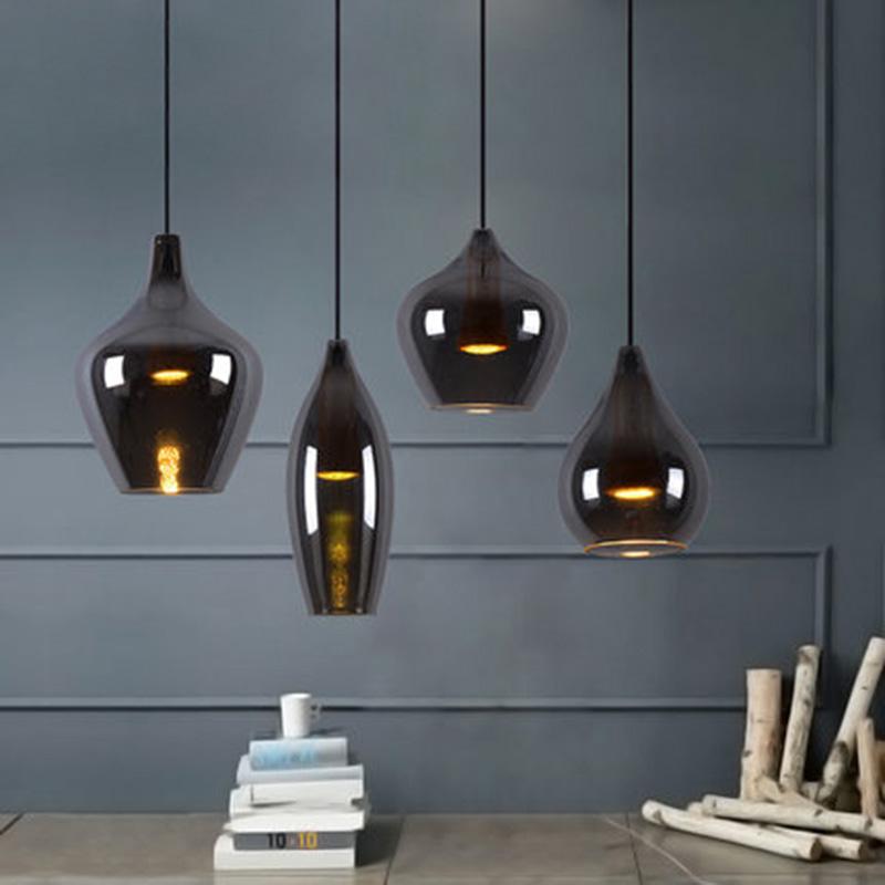 Дизайнерский светильник Glass Black