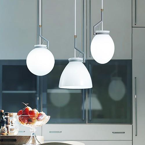 Дизайнерский светильник Glass Blue Midlight