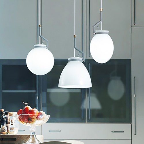 Светильник LOFT Glass Blue Midlight