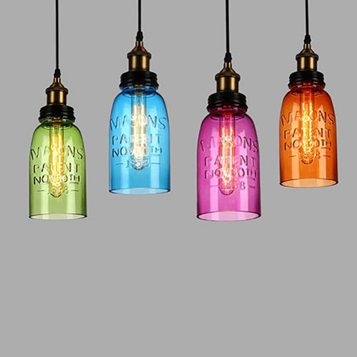 Дизайнерский светильник Glass Bottle Pendant 2