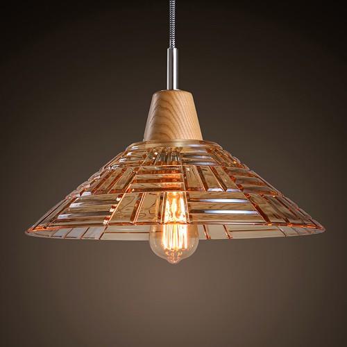 Дизайнерский светильник Glass Broun