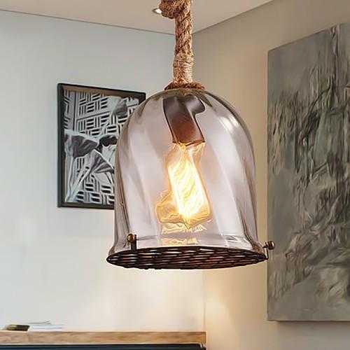 Подвесной светильник LOFT Glass Canat Pendant