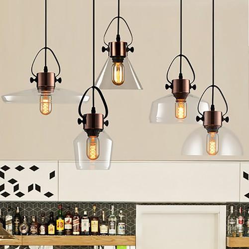 Дизайнерский светильник Glass Cloch Copper