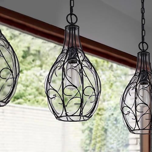 Дизайнерский светильник Glass Gucci