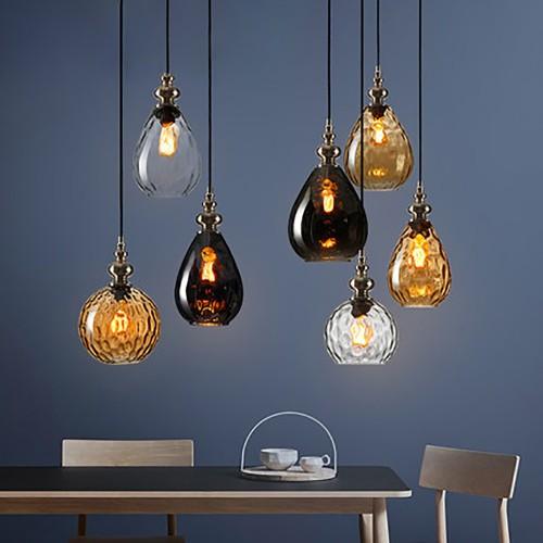 Дизайнерский светильник Glass Nordic Star