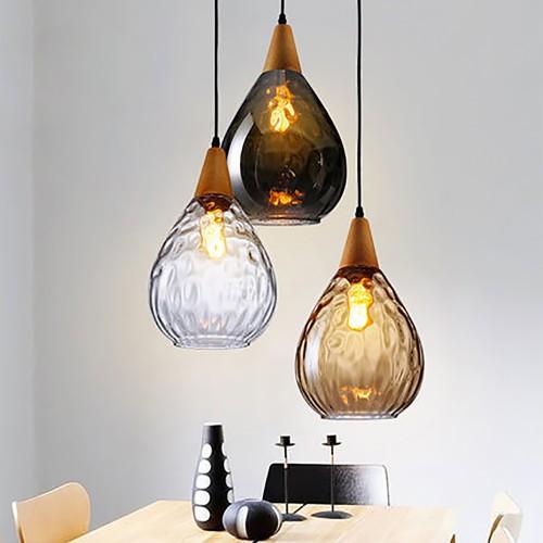 Дизайнерский светильник Glass Nordic Star 2