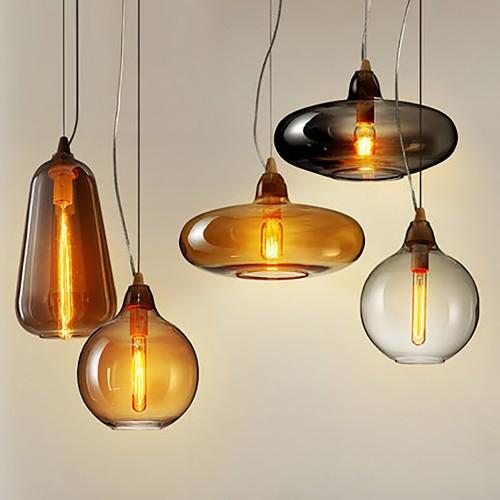 Дизайнерский светильник Glass Nordic Star 4