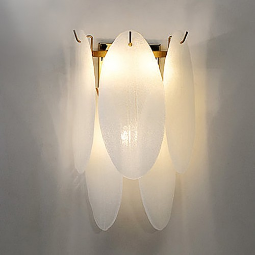 Дизайнерский бра Glass White Wall