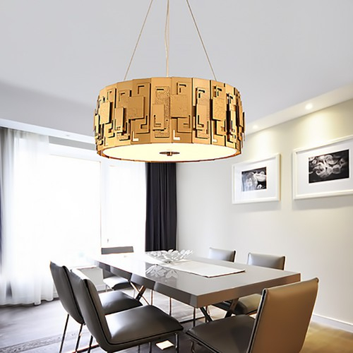 Дизайнерский светильник Gold Armor Chandelier 2